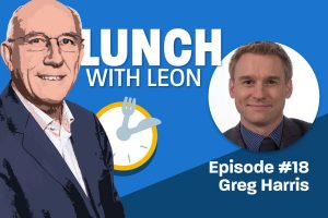 Lunch with Leon episode 18 - Greg Harris