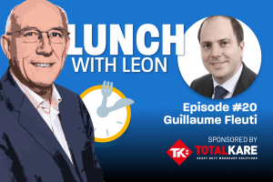 Lunch with Leon episode 20 - Guillaume Fleuti
